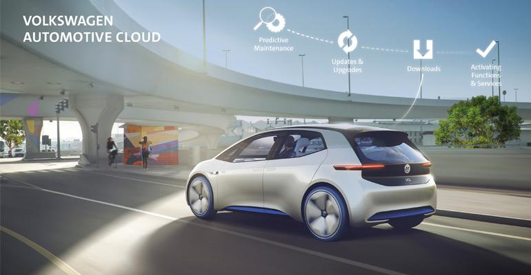 VW, Microsoft to co-develop Volkswagen Automotive Cloud.