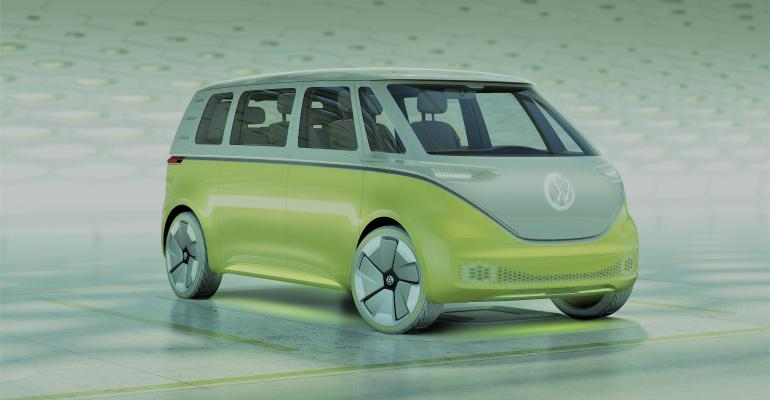 VW plant in Hanover, Germany, to build I.D. Buzz van among other EVs.