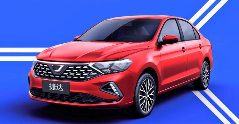 VA3 described as rebadged version of current Chinese-market Jetta sedan.