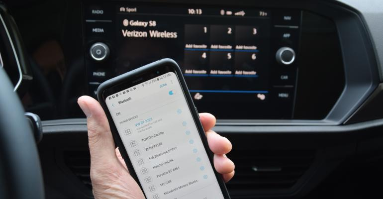 VW jetta phone pairing
