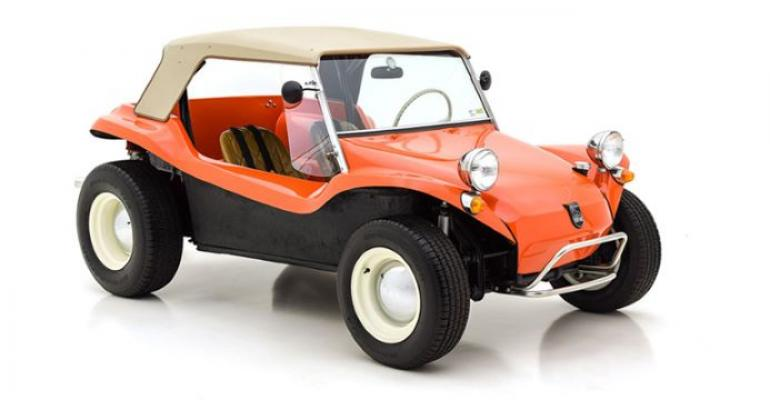 Electric dune buggy could update Beetle-based Meyers Manx produced from 1964-1971.