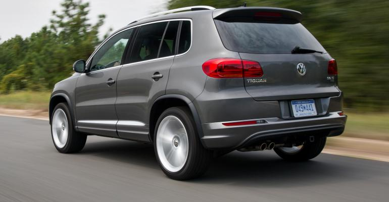 Plaintiff in German lawsuit sought replacement for '15 Tiguan fitted with cheat software.