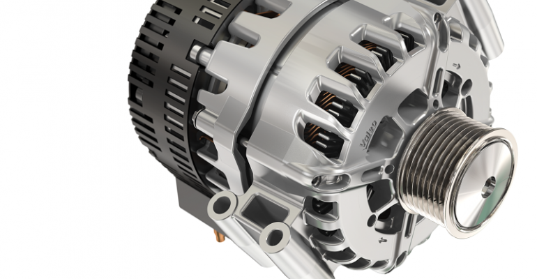 Valeo 48V starter/generator.