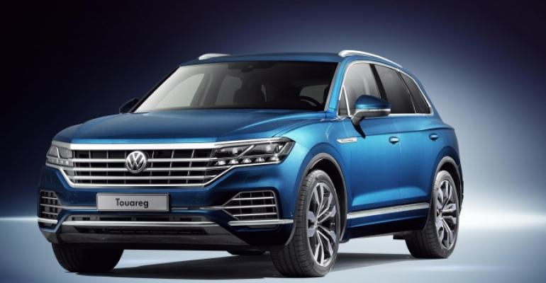 Range-topping electric SUV to have exterior, interior dimensions similar to Touareg's.