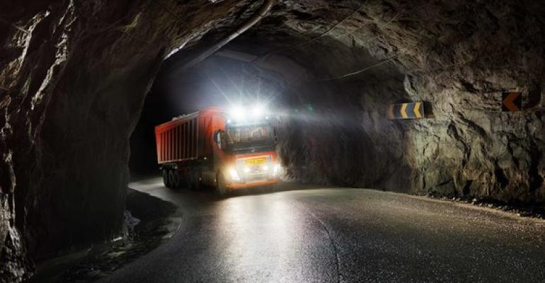 Volvo owns, operates autonomous trucks at Norway limestone mine.