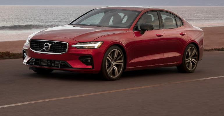 2019 Volvo S60 is first model from automaker's new plant in Charleston, SC.