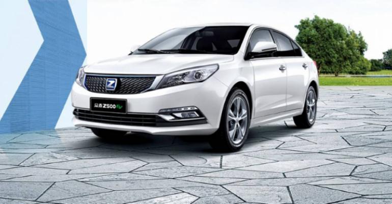 China-built Zotye vehicles due on U.S. market in fourth-quarter 2020.
