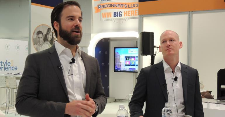Schnabl, left, and Gnauck at this year's NADA convention and expo.