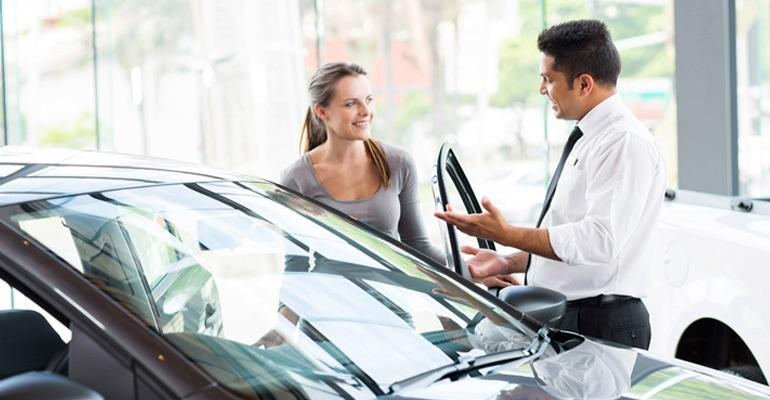 car dealership sales