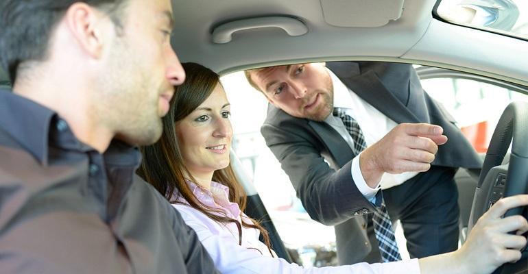Dealership car shoppers