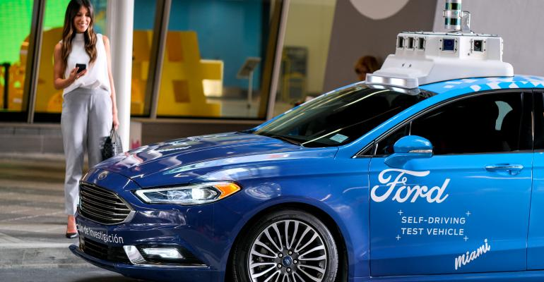 Ford Self-Driving Experience in Miami