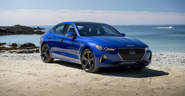 Genesis G70 at Pebble Beach