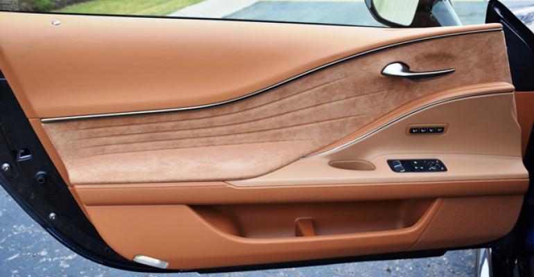 2017 Wards 10 Best Interiors Nominee: Lexus LC 500