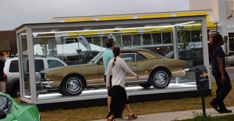 2016 Woodward Dream Cruise: GM Exhibit in Birmingham