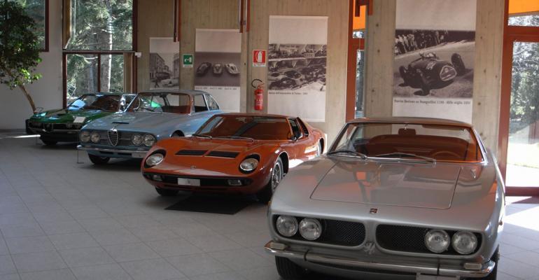 Bertone Concepts on Auction Block