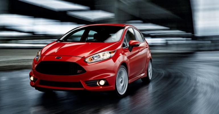 3914 Fiesta ST powered by a 16L directinjected turbocharged inline 4cyl engine