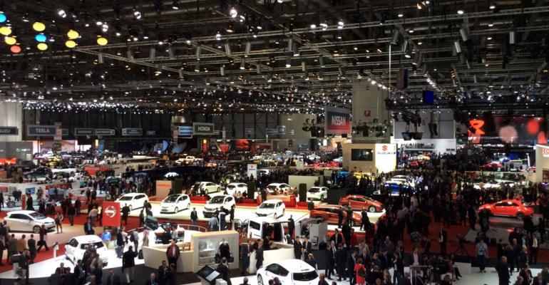 2014 Geneva Auto Show: View From the Floor