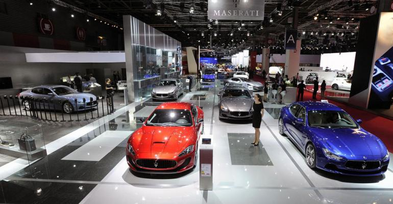 2014 Paris Auto Show: Scenes From the Floor