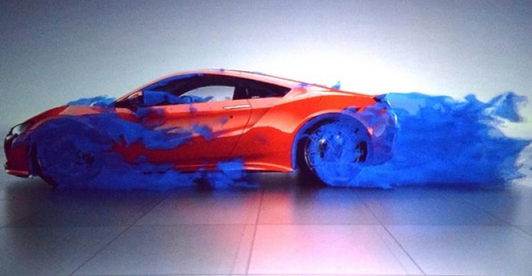 Acura NSX at SAE World Congress