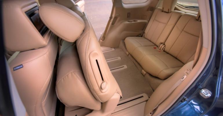 2013 Ward's 10 Best Interiors: Nissan Pathfinder