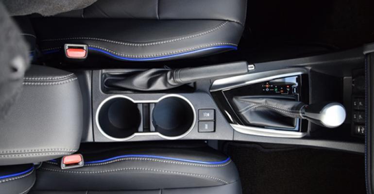 2017 Wards 10 Best Interiors Nominee: Toyota Corolla