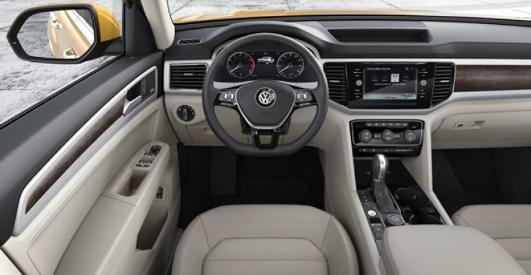 Volkwagen Atlas Revealed