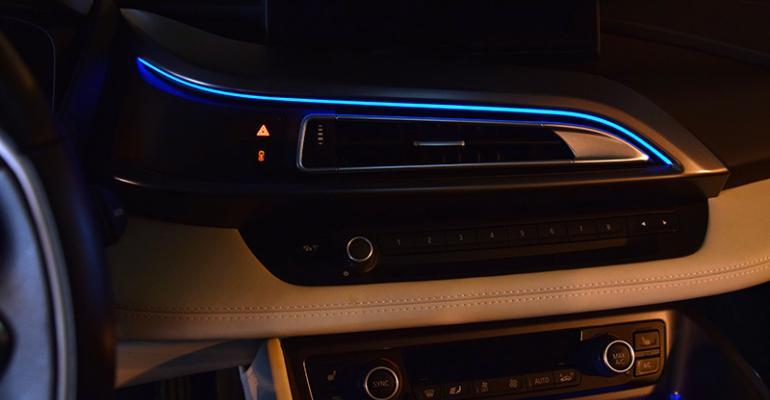 2015 Ward's 10 Best Interiors Nominee: BMW i8