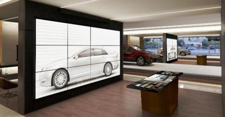Lincoln's Futuristic Dealerships in China