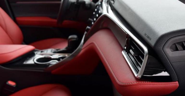 2018 Wards 10 Best Interiors Winner: Toyota Camry