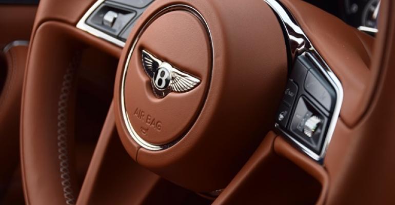 2017 Wards 10 Best Interiors Nominee: Bentley Bentayga