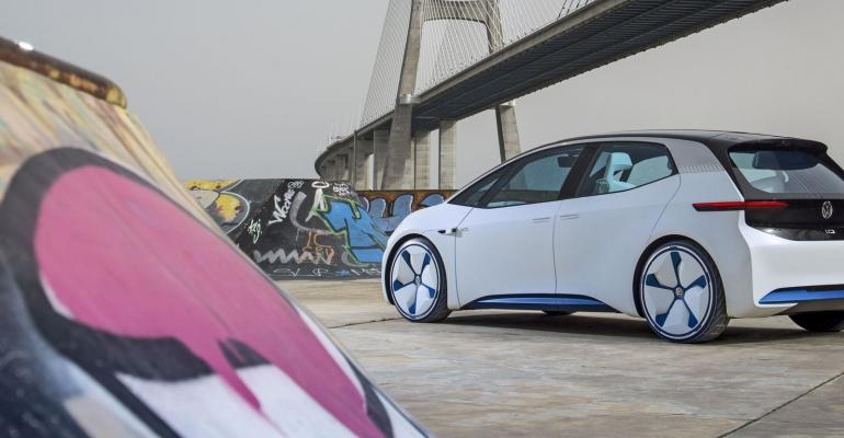 Revamped VW marketing to coincide with 2019 debut of ID electric vehicle.
