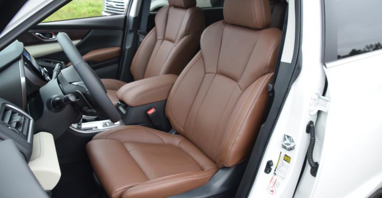 Subaru Ascent front seats