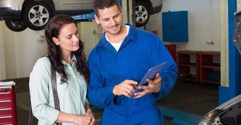Advising a customer