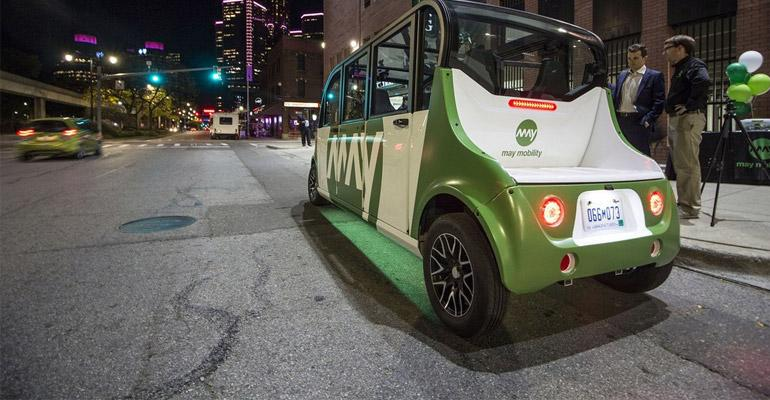Slow & Steady Wins the Race: A Case for Driverless Shuttles