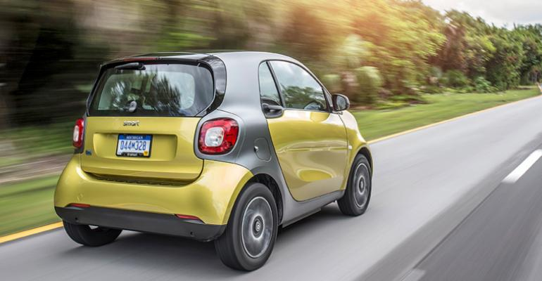 smart matched combined General Motors, Ford and Chrysler sales in Japan in 2018.
