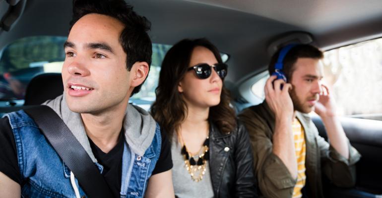 Uber passengers