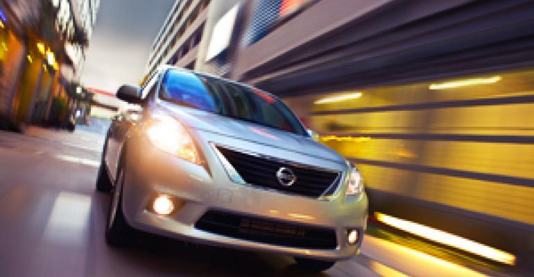 Nissan Confident in Sedan-Only Versa Launch
