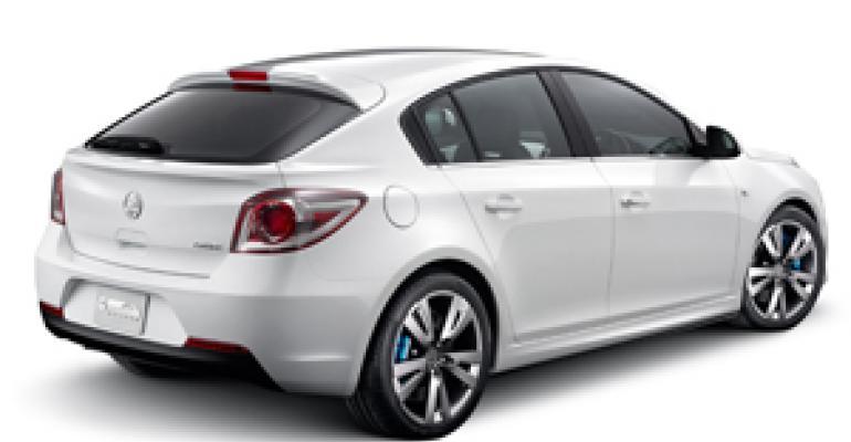 GM Holden Shows Off New-Product Portfolio at Oz International Auto Show