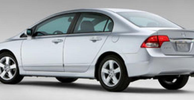 Honda Plummets to Seventh Place in U.S. Market