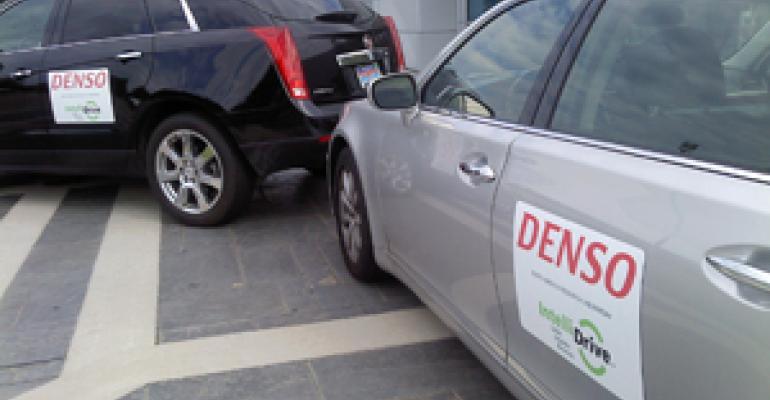 Denso Steps Up V2V Field Testing