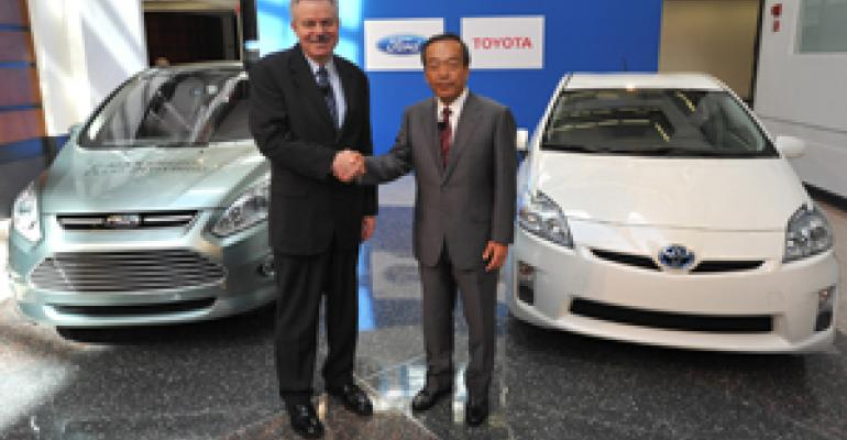 Strict Fuel-Economy Rules Necessitate Ford, Toyota Hybrid Tie-Up