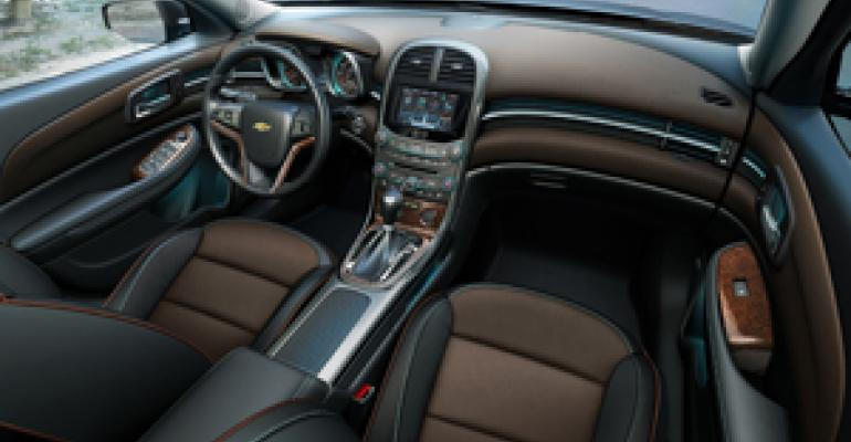 Chevy Malibu Interior Designers, Engineers Sweat the Details