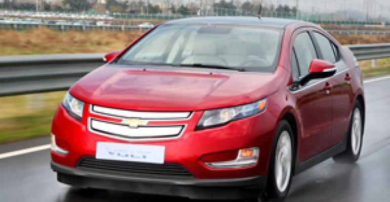 Chevy Volt Retail Stocks Build Slowly; GM Sales Up 13.5% in August