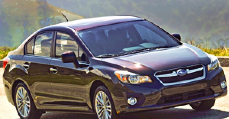 New Product, Dealers, AWD Bolster Subaru Sales Targets
