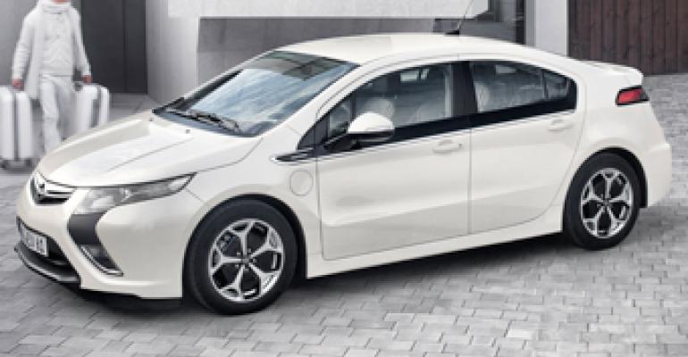 Looks Like Fast Start for Opel's Volt-Based Ampera