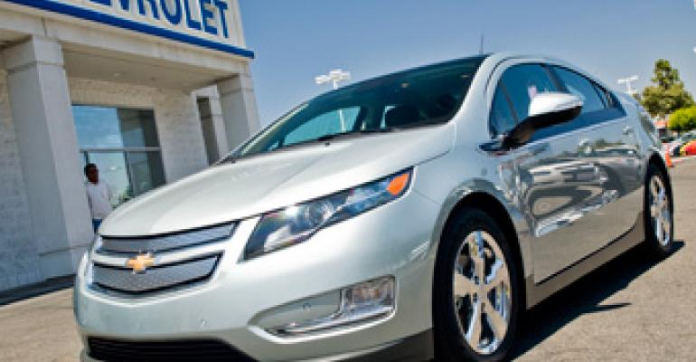 GM October Deliveries Nudge Up; Still Pushing Volt Sales Goal