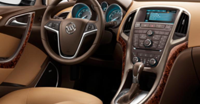 Buick Eyes Verano Tweaks Ahead of Launch