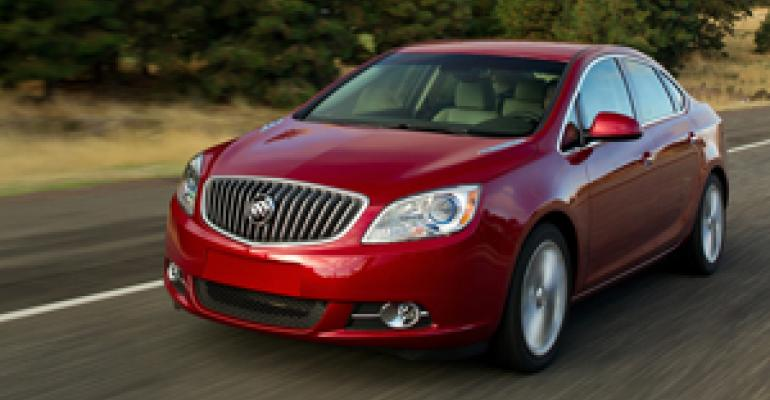 Buick Verano Smooth, Solid Player in New Compact-Luxury Segment