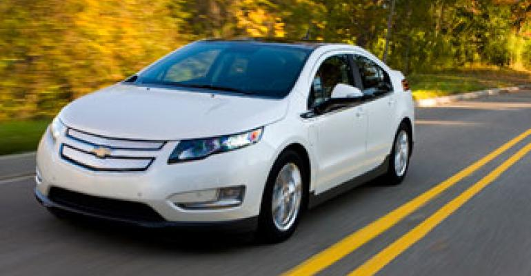 Chevy Volt Sales Up Amid Safety Scrutiny; GM's November Deliveries Rise