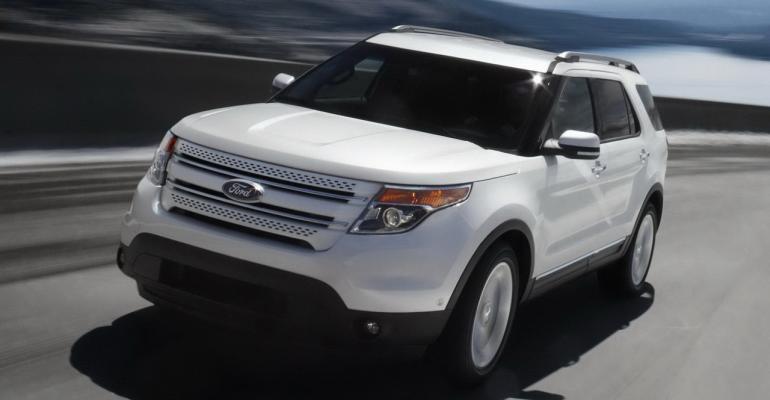 Ford Explorer sales up 1120 in November